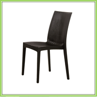 Best Selling Black Plastic Barcelona Dining Chair