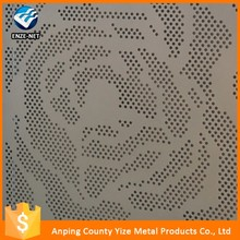 Professional cheap round hole perforated metal mesh auto