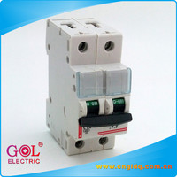 Chinese products sold GA66 2P types of electrical switches