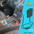 2016 Newest 4 port USB with intelligent recognize car back seat car charger