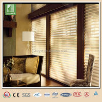Mould-proof auto car roll up window sun shade shangri-la roller blind