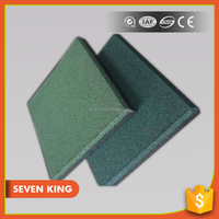 Qingdao 7king high density interlocking outdoor basketball court rubber floor paver mats