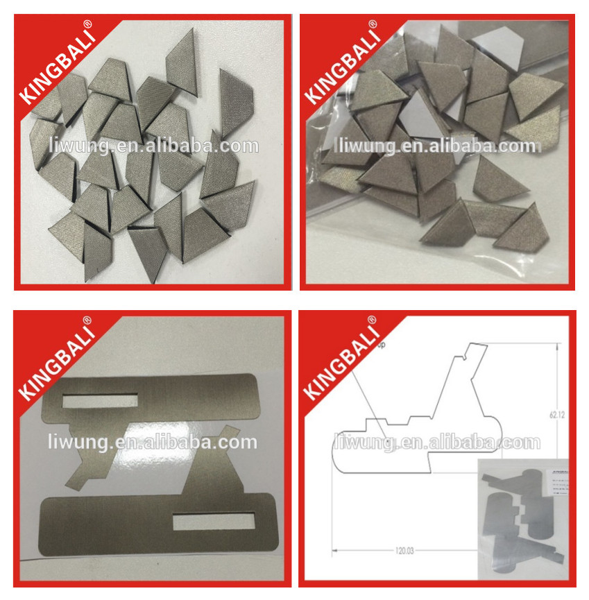 Die cut Raw Material EMI Conductive Foam Google Cardboard Supplier / Button Material for Google Cardboard 2.0