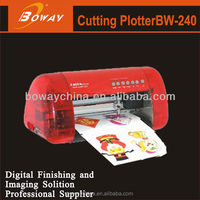 BW-240 desktop A4 vinyl printer plotter cutter