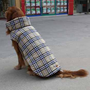 2015 New Arrival Wholesale Dog Clothes Reversible Winter Dog Cloth