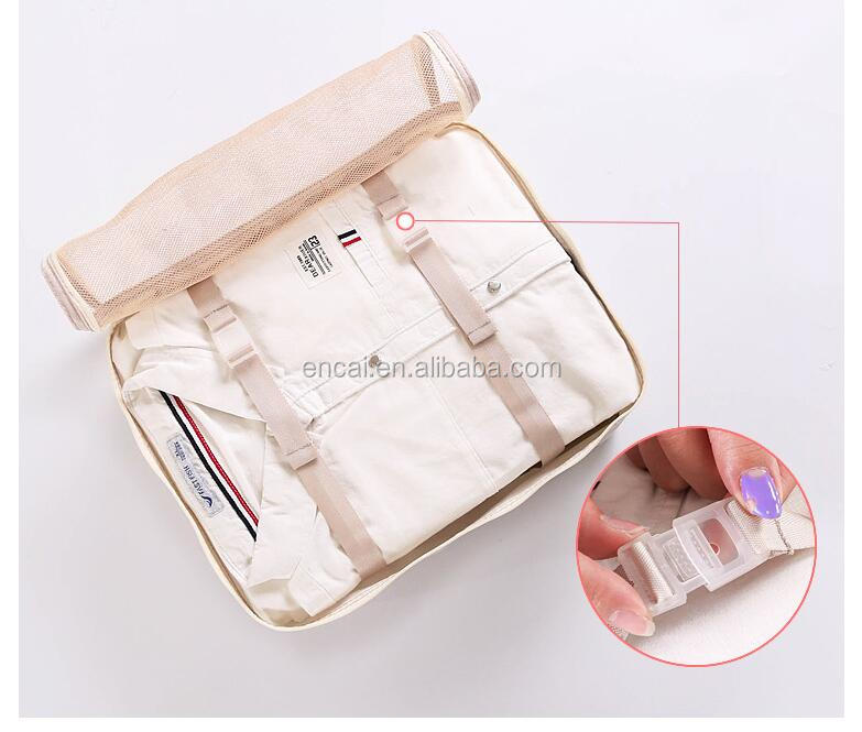 Encai Travel Clothes Packing Cube Bags 6 in 1 Luggage Organizer Bag Set