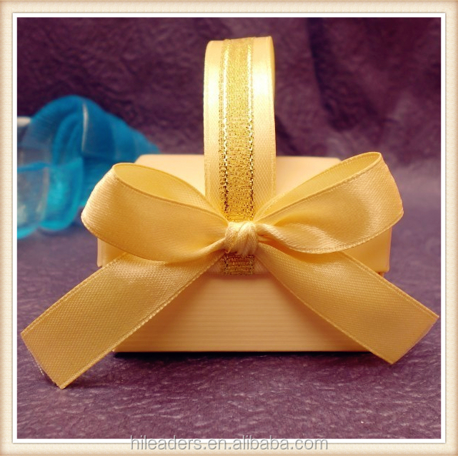 RB01 Decorative Solid Color Satin Ribbon Bow