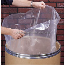 LDPE Lay Flat Poly Bags Flat Drum Liners