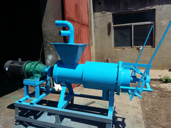 hot sell chicken manure dewater machine , manure solid and liquid separator / chicken manure dewatering machine 0086-15838061759
