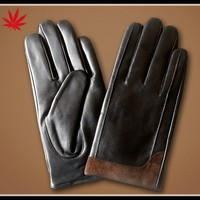 High Quality Mens Fashion Sheepskin Leather