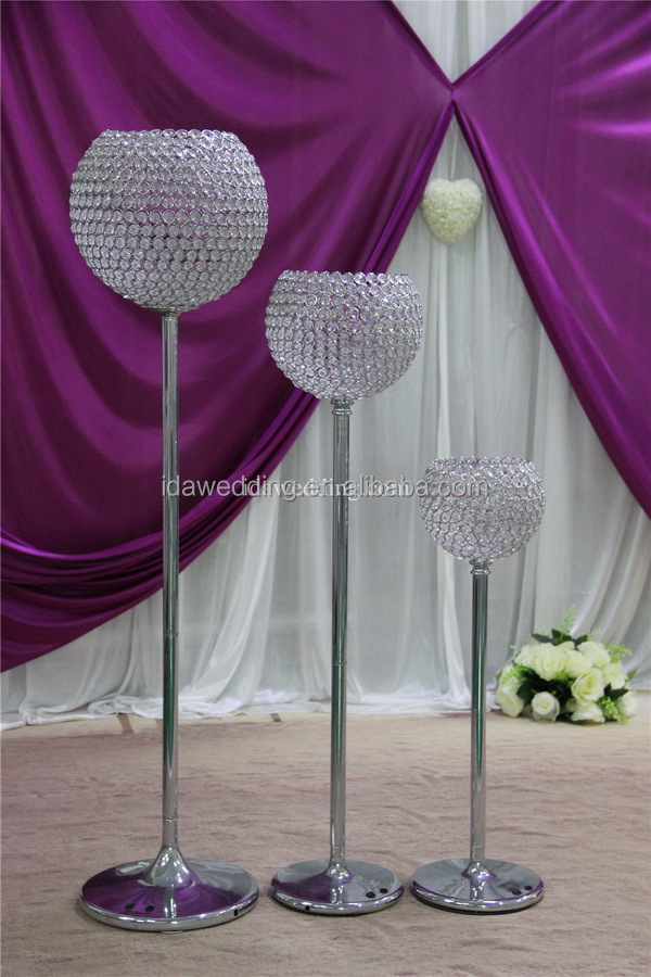 wedding crystal pillars online shopping from china supplier