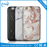 Marble style phone case for iphone 6 6s hot sell soft TPU floor pattern phone cover for apple iphone 6/6s/plus