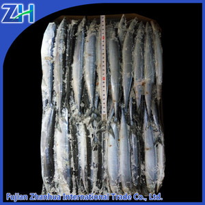 block frozen seafood pacific saury fish