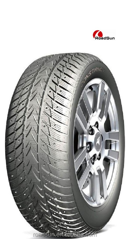 Chinese Gold Suppilers 12-22 inch car tires non stud winter tyre