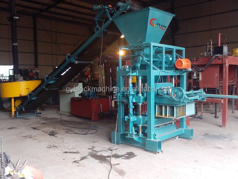 Light weight fly ash bricks making machine/mobile brick machine