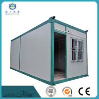 50mm 75mm 100mm sandwich panel modern prefabricated desert folding container houses hot sale