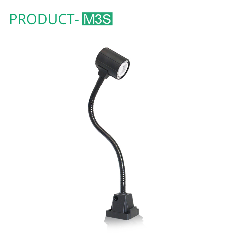ONN-M3W IP65 LED Machine Tool Light / Gooseneck Work Light for CNC Machine