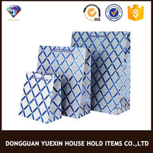 Wholesale price blue goodie bags made in China