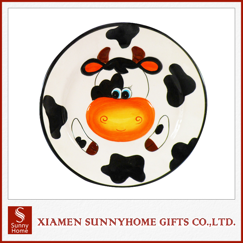 Ceramic Crafts Pretty Cow Dinnerware