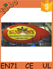 Inflatable Spaceship Advertisement Zeppelin Party Dirigible LED Light Blimp with Factory Price Made in China