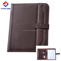 a4 size leather embossed portfolio covers