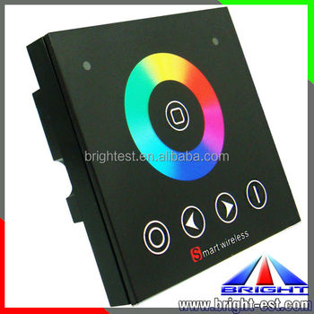 RF wireless led touch panel controller for RGB led strip