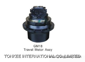excavator parts final drive DOOSAN,GM18 travel device for PC100-6 PC120-6 PC130-7 PC128UU-1 DH150 R150-7 SY150