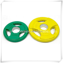 Weight Lifting Type Rubber Round Weight Plate