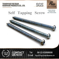 flat head self tapping wood screw for aluminum