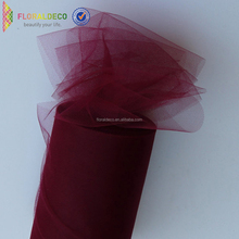 Customized wedding decoration packing tutu tulle mesh fabric roll
