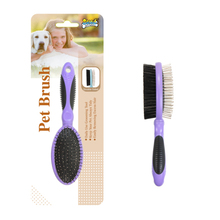 Pet Grooming Tools Double Sided Dog Hair Remover Make up Slicker Brush Pet Fur Lint Bath Comb Pet Accessories Making Supplies
