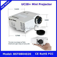 UC28+ Mini Projector,NO.152 led mini pocket projector for iphone 5