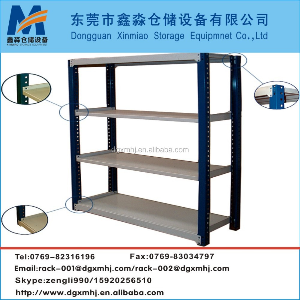 100kg Weight Capacity Steel Material light duty racking
