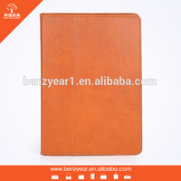 Bulk wholesale custom genuine leather tablet case for ipad Air