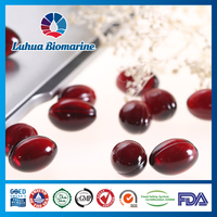 krill oil capsules of omega 3 fatty acid