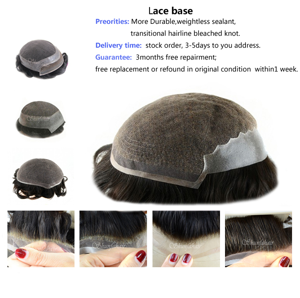 Toupee,lace toupee for men,human hair toupee