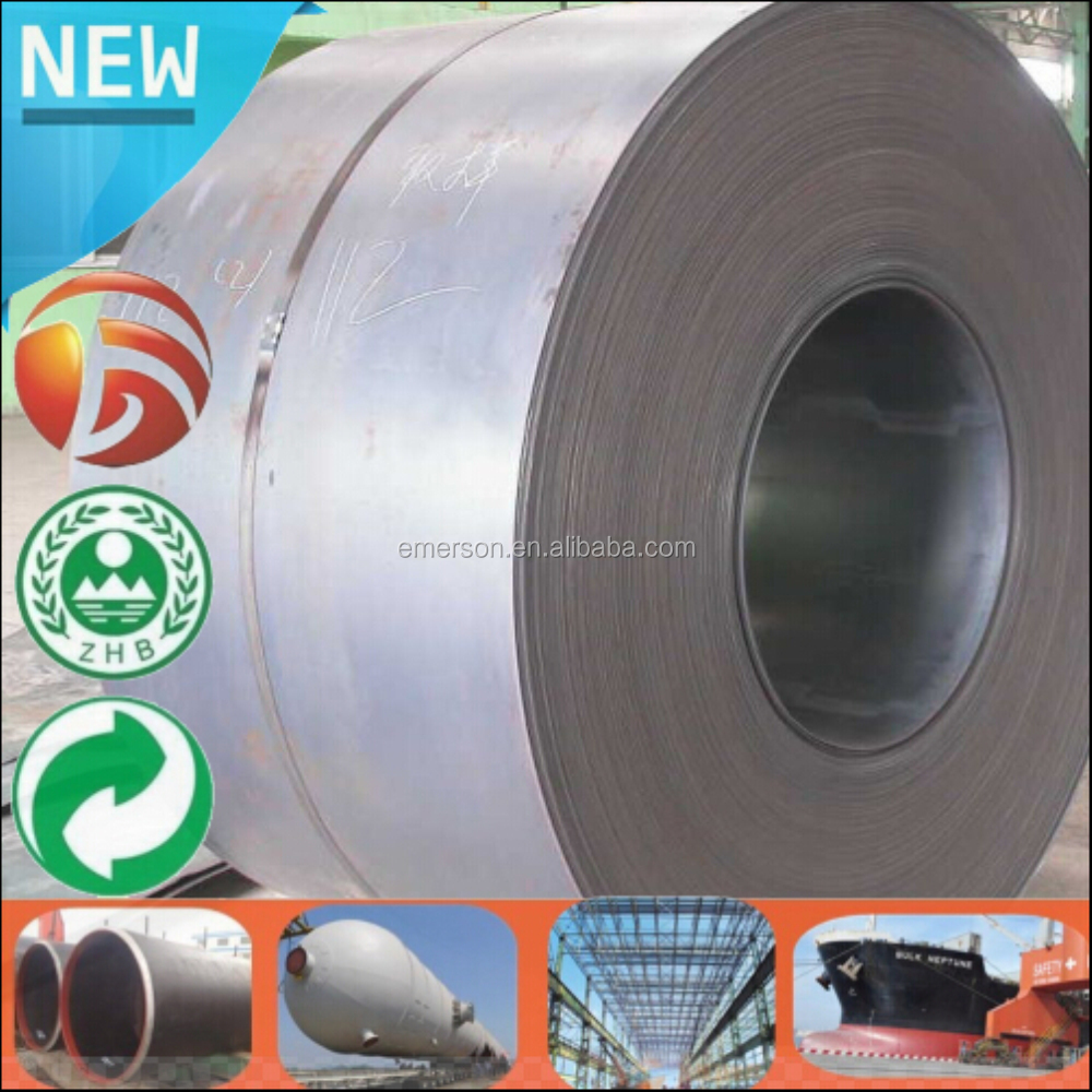 Hot rolled Steel Coil Factory manganese steel plate 30mm Q345B Low alloy steel coil price per kg Tianjin