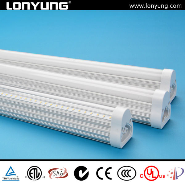 led small single light t5 integrated tube with 3 years warranty