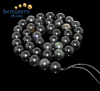4mm 6mm 8mm semi-precious gemstone beads Natural obsidian