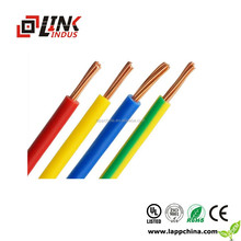 Braided 3 core fabric covered electric cable