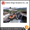 Outdoor landscape water park for theme park
