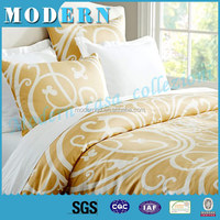 New bed sheets design/printed bamboo bedding set