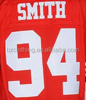Justin Smith 94 San Francisco 49 American Football Elite Jersey
