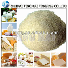 Gelatin powder for dairy products
