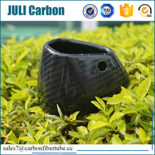 custom moulding parts, carbon fiber motorcycle exhaust pipe fittings