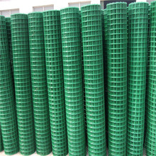 PVC coated welded wire mesh panels for garden/plastic coated wire mesh panel