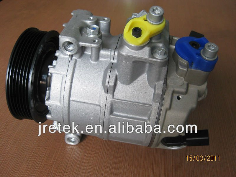 7SEU16C Series Electric Car Ac Compressor for AUDI A3