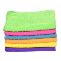 microfiber cleaning rags with cheaper price in China