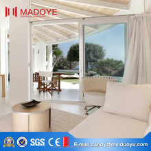 Double glazed windows aluminum frame sliding glass window