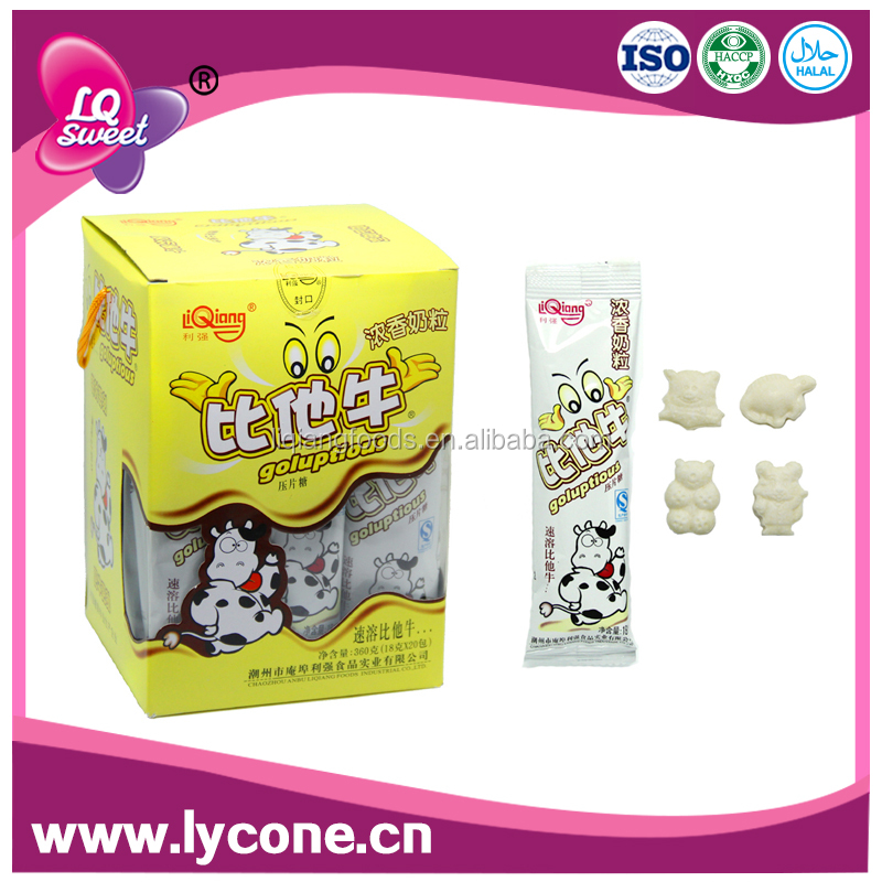Quality dry milk powder table /pressed Candy